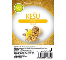 Kešu oříšky natural 500g, AWA superfoods