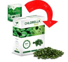Chlorella Fresh 250g, tablety