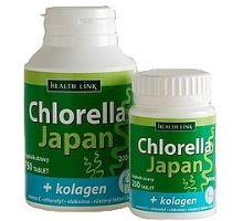 Chlorella Japan + kolagen 250 tablet
