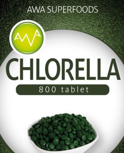 Chlorella tablety 200g, AWA Superfoods
