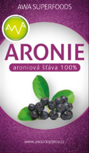 Šťáva z arónie, AWA Superfoods 600ml