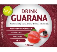 Guarana drink, AWA Superfoods 100 ml