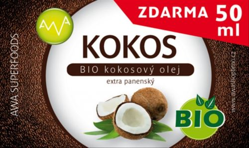 BIO Kokosový olej, AWA superfoods, 400 ml