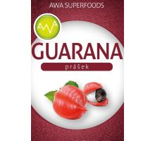Guarana prášek 100g, AWA superfoods